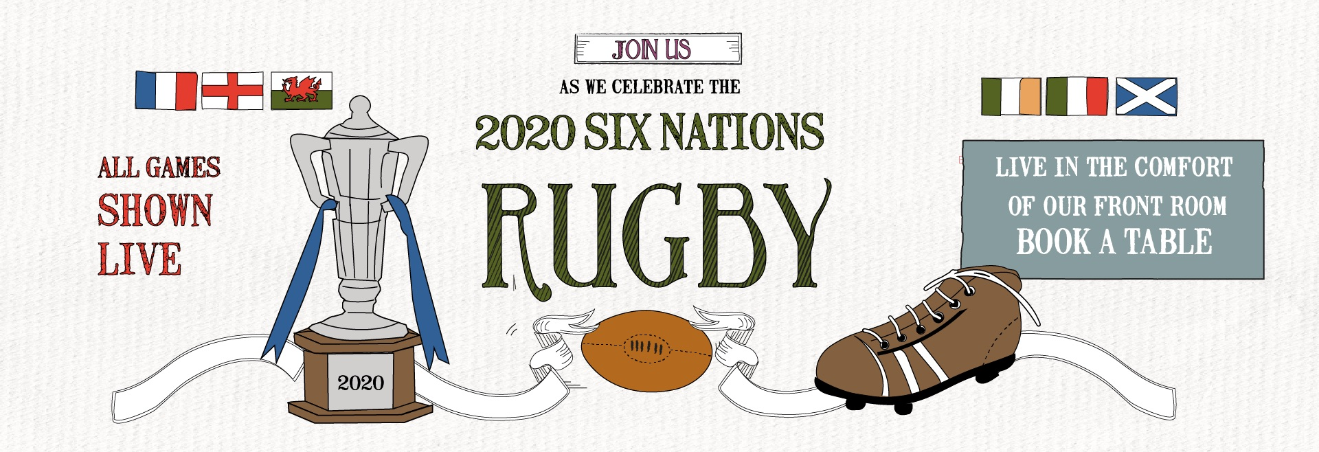 Six Nations at The Goat