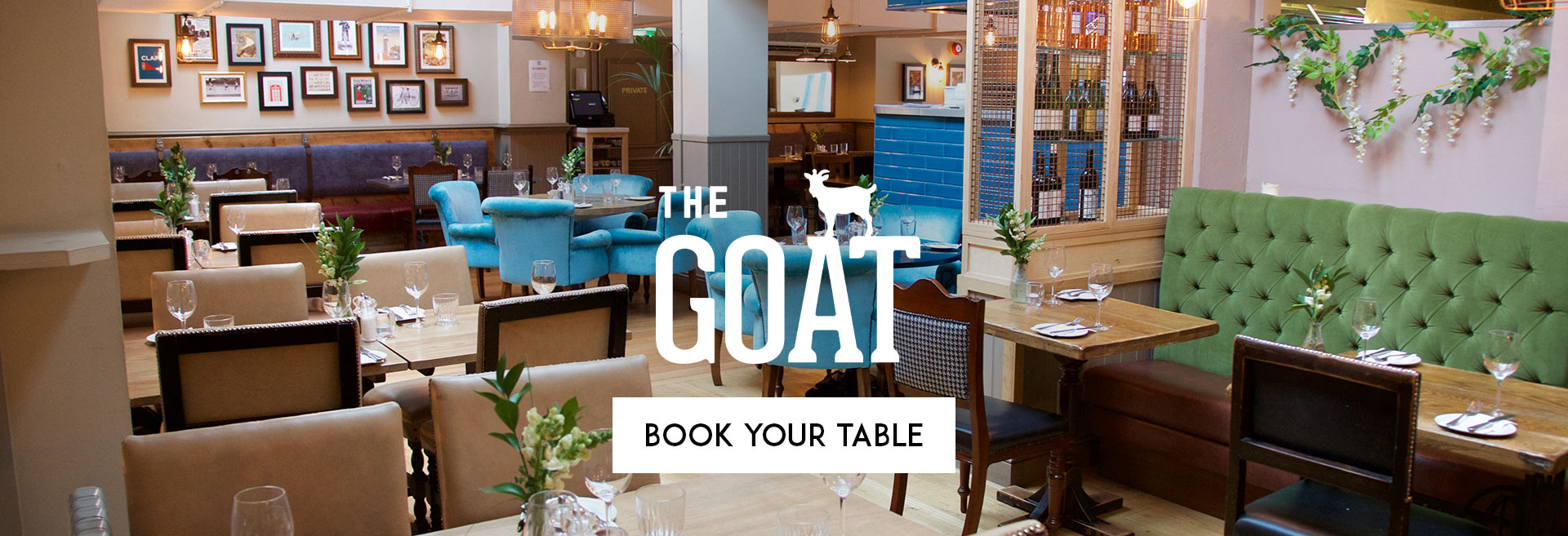 Book Your Table at The Goat